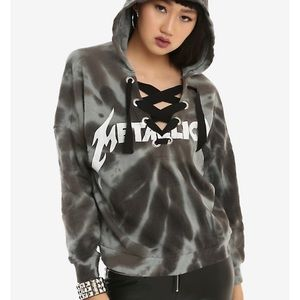 Metallica Bleach wash Sweater size M